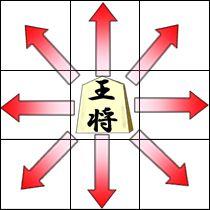 玉将(ぎょくしょう)の動き方
