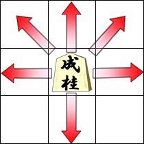 成桂(なりけい)の動き方